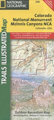 National Geographic Trails Illustrated Map Colorado National Monument
